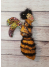 Honey Bee Queen - OOAK Spirit Doll - Wall Art