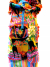 Folk Art Doll Colorful Skirt for Mexican Woman going to Marketplace Wall Hanger