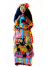 OOAK Folk Art Doll Mexican Woman at Marketplace Original Sculpt Clay and Cloth