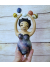 Juggling the Universe - OOAK Spirit Doll  - with Miniature Planets