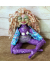 Serenity - OOAK Spirit Doll with Lotus Blossom - Cloth and Clay Original