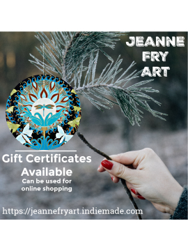 Gift Certificates Available for Original Art for the Holiday