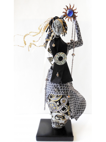 The Wisdom Keeper Art Doll Collection by Jeanne Fry