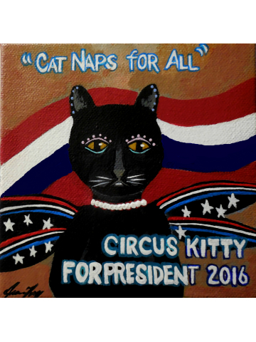 Circus Kitty Catnaps for All