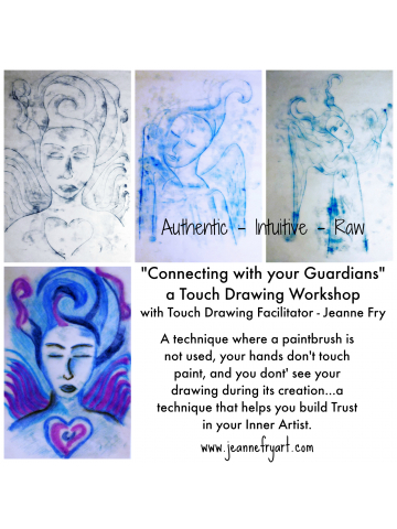 Connecting with Your Guardians Touch Drawing Workshop