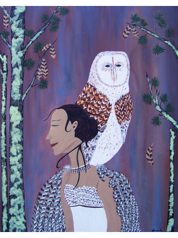 She Flies with the Owls