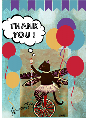 Thank You for Circus Kitty