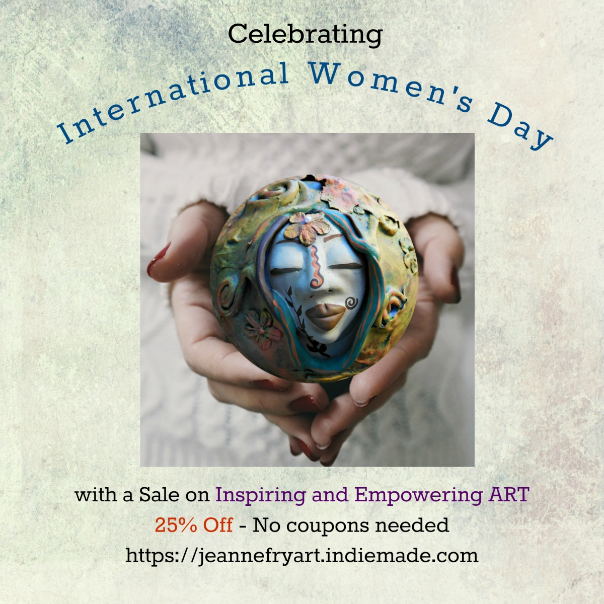 International Womens Day Art Sale